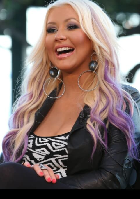 Celebrity Of The Week Christina Aguilera Hairstyles Hair