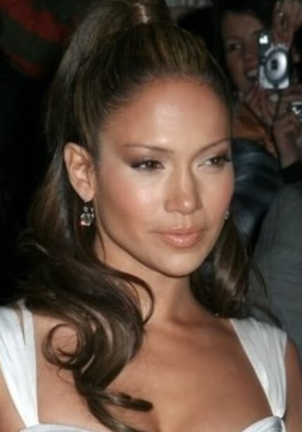 Jennifer lopez hairstyles hair extensions hair extensions news the sleek bun pmusecretfo Choice Image
