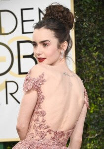 Lily-Collins-Hair-Makeup-2017-Golden-Globes (3)