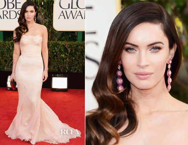 Celebrity_hairstyles_hair_extensions_Golden_globe_2013