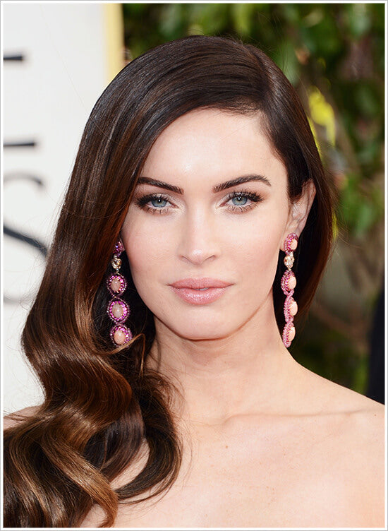 Megan-Fox-Clip-in-hair-extensions-cliphair.co.uk