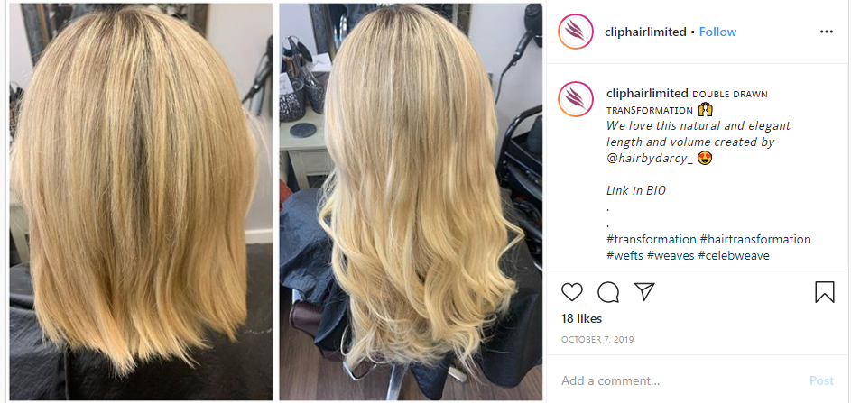 blending short hair with extensions