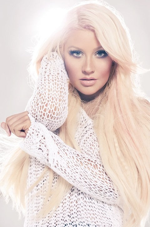 christina-aguilera-sleek-straight-hair