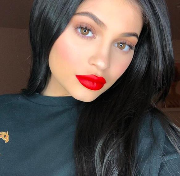 clip in hair extensions-Kylie-jenner-black-beauty