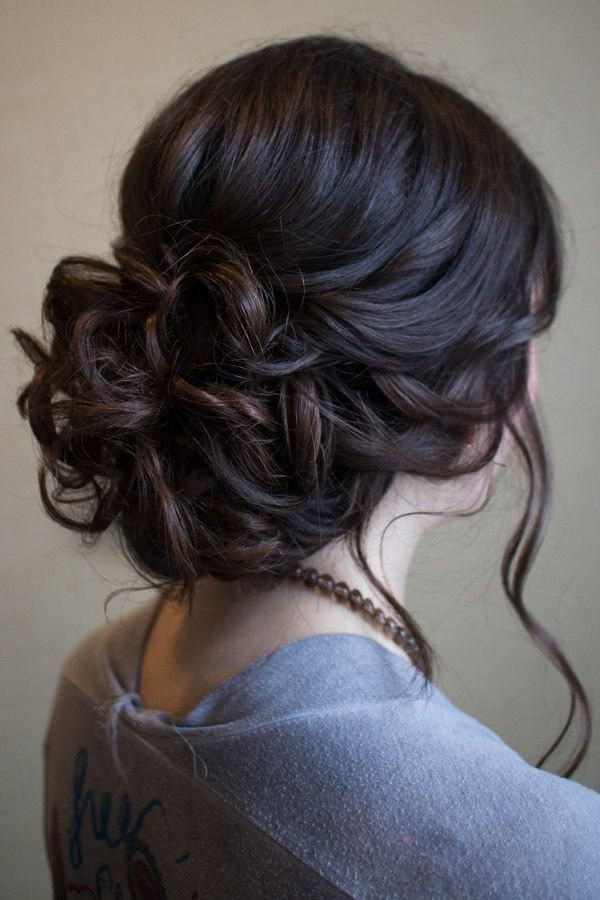clip in hair extensions-autumn-updo-chain-chignon