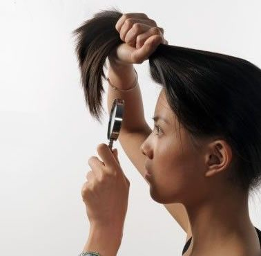 clip in hair extensions-dusting