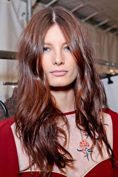 clip in hair extensions-hottest-colour-november-hint-red
