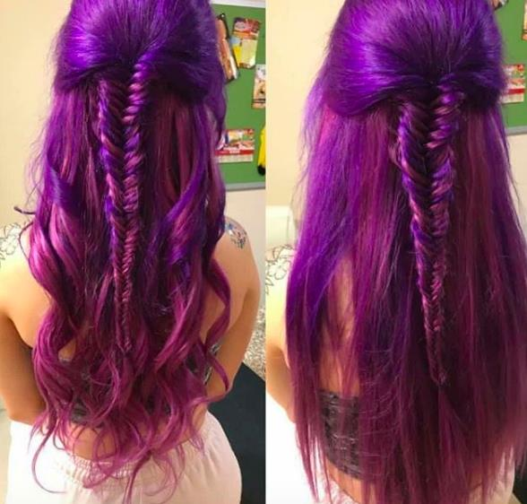 clip in hair extensions-lush-fishtail