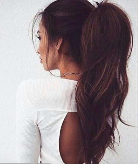 clip in hair extensions-lush-ponytail