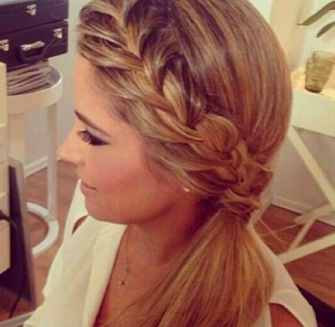 clip in hair extensions-ponytail-braid