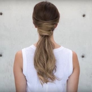 clip in hair extensions-ponytail-drab-fab-crossed
