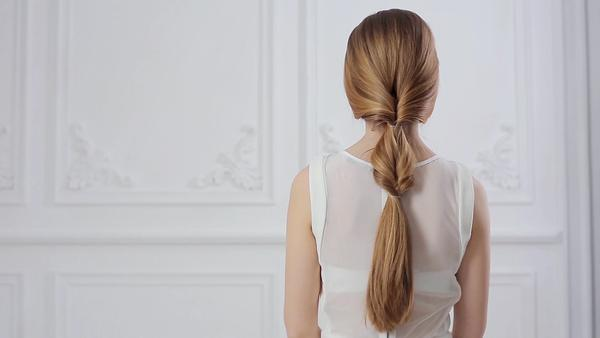 Clip In Hair Extensions Ponytail Drab Fab Looped