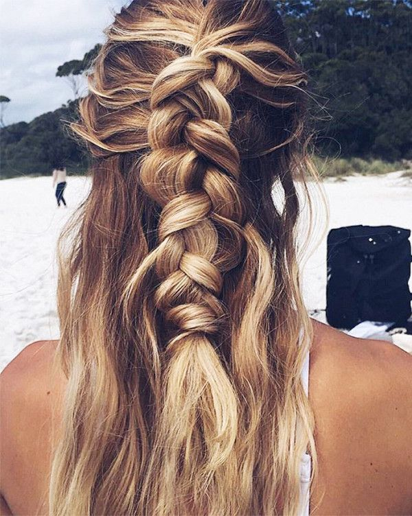 clip in hair extensions-wedding-styles-romantic-half-up