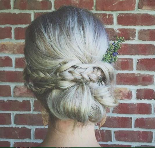 cliphair-extensions-bird-nest-hair-chignon boho style