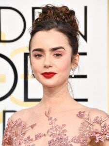 cliphair-hair-extensions-lilly-collins-fishtail