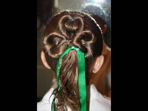 clipin in hair extensions-leaf-clover