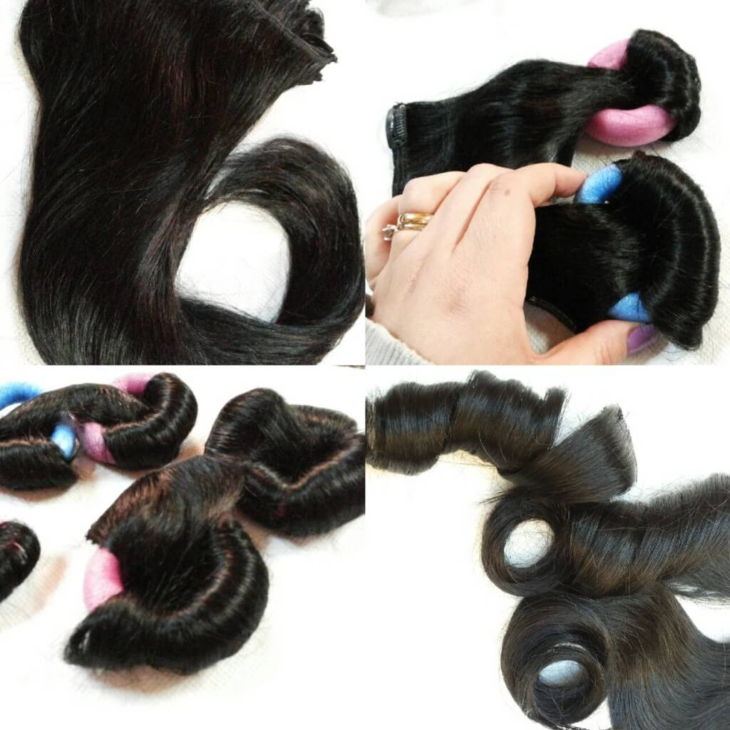Can You Curl Synthetic Extensions Without Heat Remy Indian Hair
