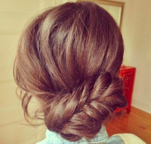 fishtail-bun-hair-extensions-human-hair