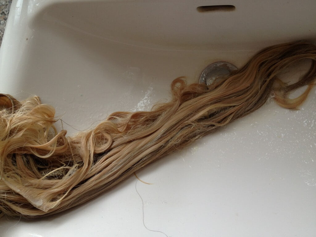 Washing Clip Hair Extensions 27