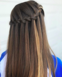 hairstyles-for-straight-hair-2017-waterfall-braid