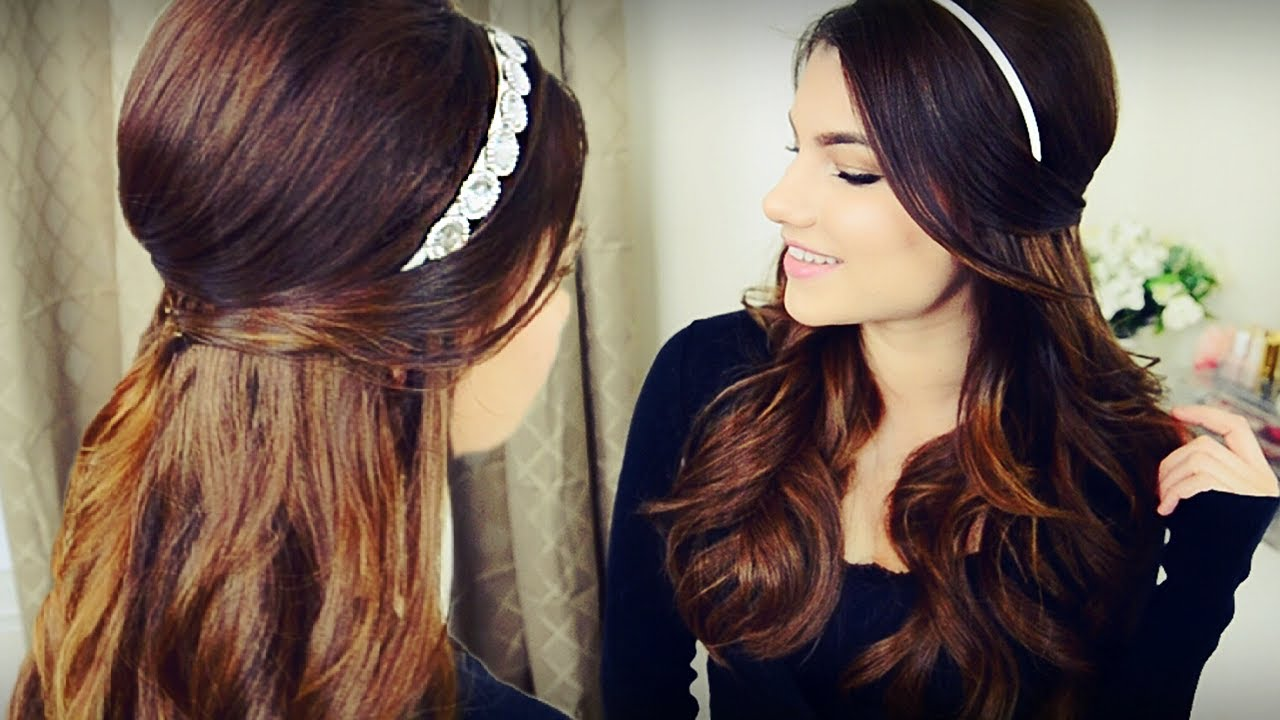 half-up-head-band-wrap-hairstyle-2017