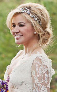 Hair extensions provide the perfect wedding style cliphair if you think about it real hair does not fall into the category of a single block colour so if natural is your aim you need highlights lighter ends pmusecretfo Image collections