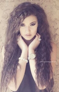 Trend alert crimped hair cliphair hair extensions news crimping on long hair 2 urmus Images