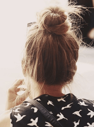 elegant and quite simple topknot
