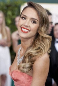 Steal her style jessica alba cliphair style tips hair simple vintage look 2 pmusecretfo Image collections