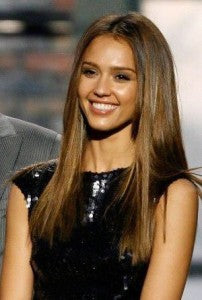 Steal her style jessica alba cliphair style tips hair simple straight hair do pmusecretfo Image collections