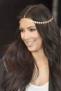 jewelled chain headpiece