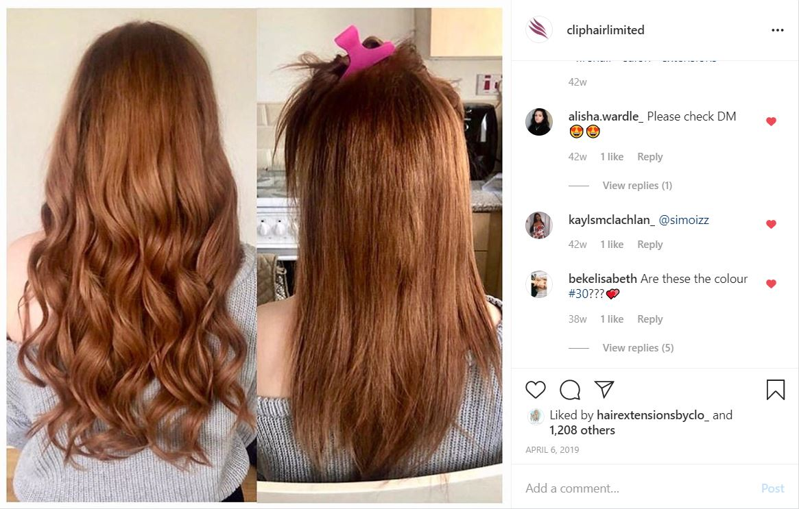 how to choose the right extensions for redheads red colour - auburn hair