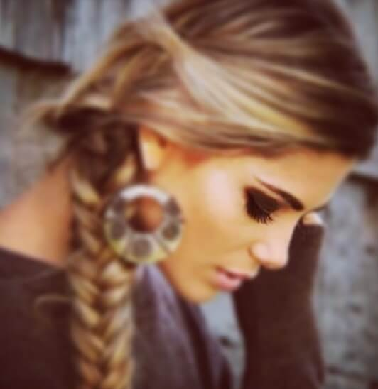 Hair Style Extender : relaxed-side-braid-hairstyle-hair-extensions