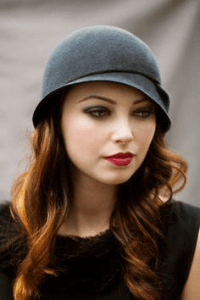 retro cloche hat