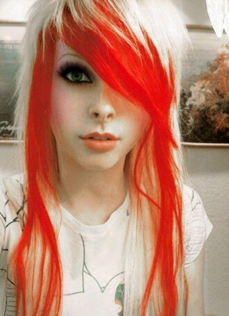 Emo Girl Hair Color
