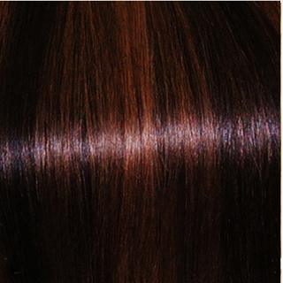 15 Inch One Piece Top-up Remy Clip in Human Hair Extensions - Natural Black/Auburn Mix (#1B/30)
