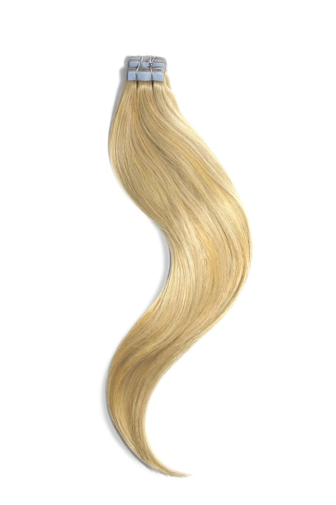 Tape In Remy Human Hair Extensions Blonde Mix (#16/613)