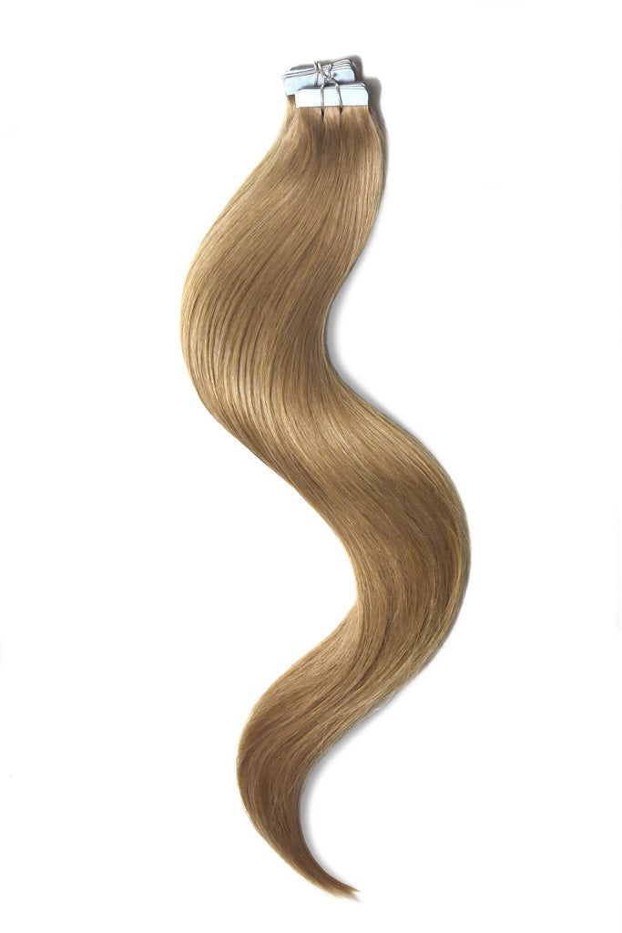 Tape in hair extensions lightest brown