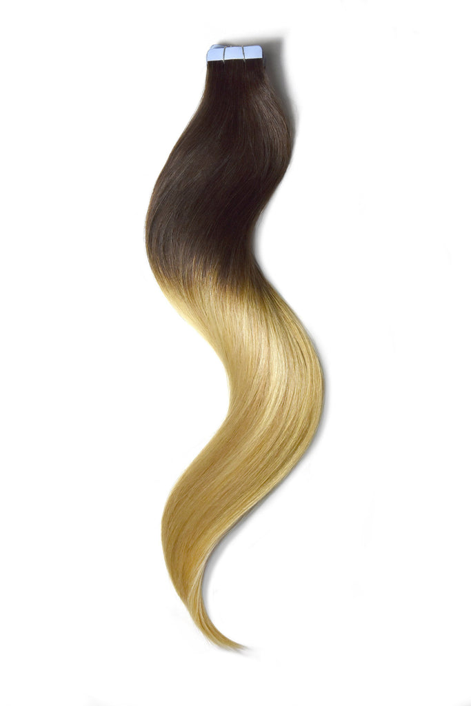 tape in hair extensions ombre lilly blonde balayage