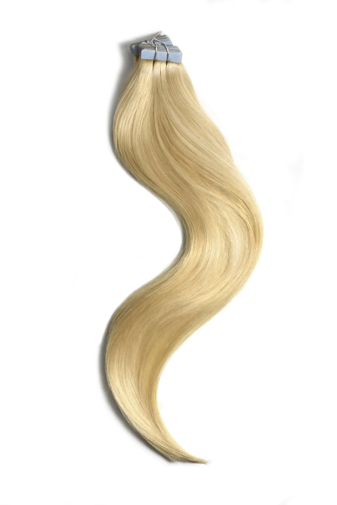 tape in hair extensions bleach blonde