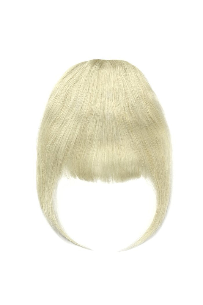 Clip in /on Remy Human Hair Fringe / Bangs - ICEBLONDE Clip In Fringe Extensions cliphair