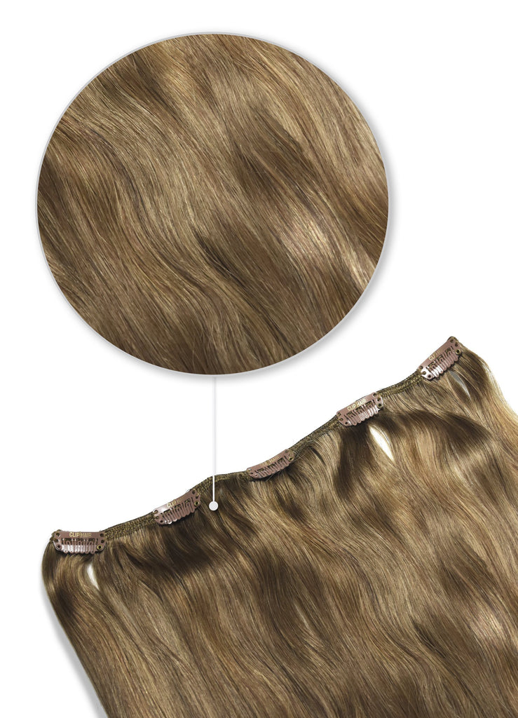 one piece top up clip in human hair extensions