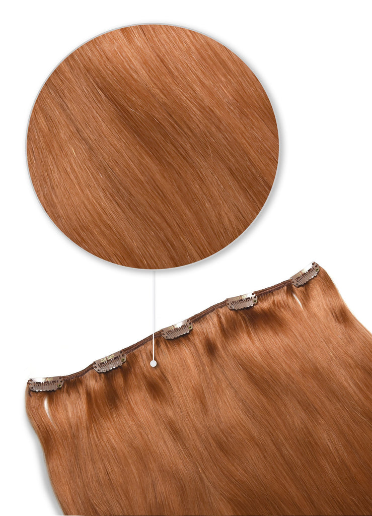 hair pieces clip in hair extensions human hair