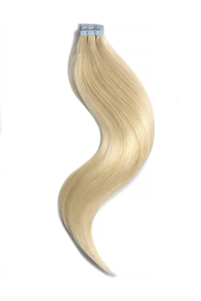 tape in hair extensions lightest blonde
