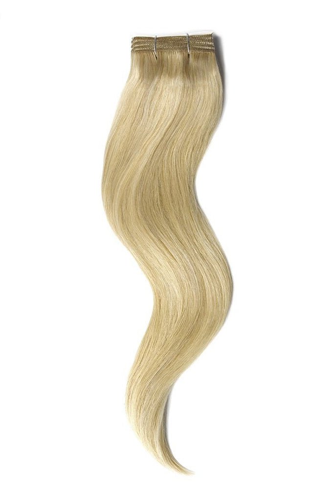 Ash Blonde Bleach Blonde Mix Hair Extensions