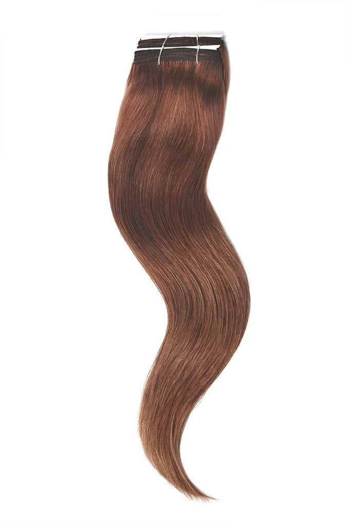 Dark Auburn Copper Red Hair Extensions