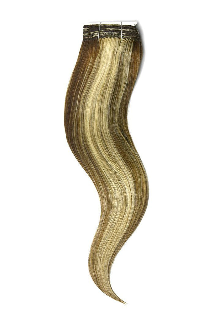 Light Brown Bleach Blonde Mix Hair Extensions