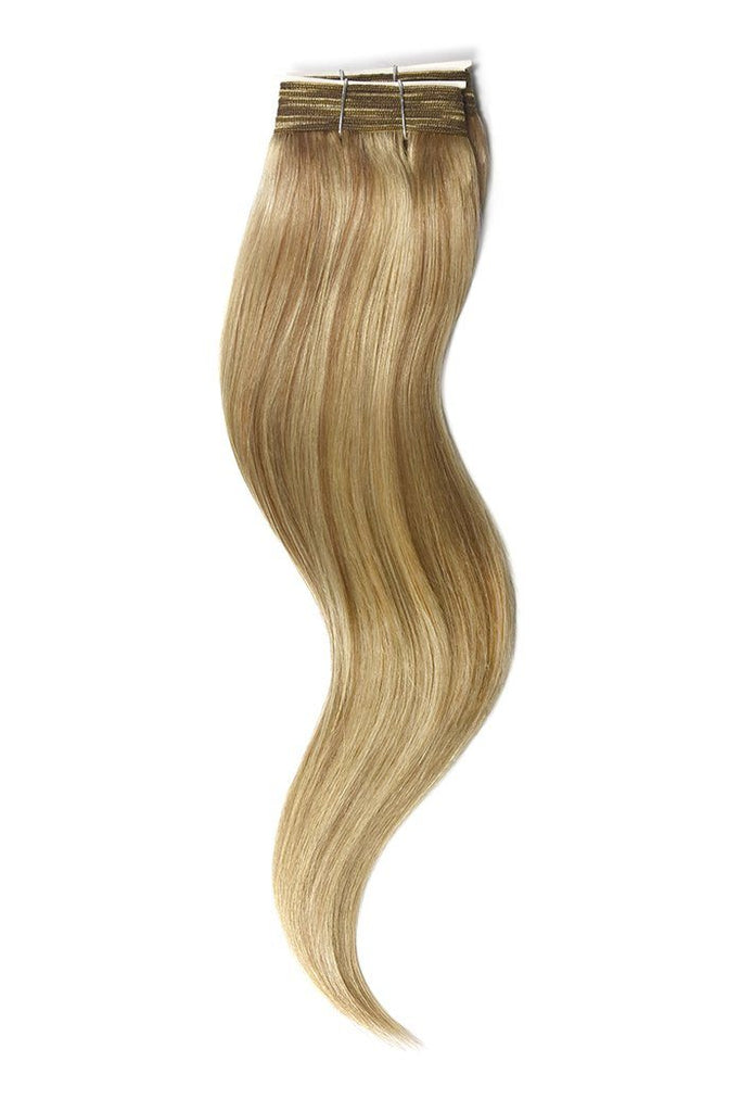 Lightest Brown Bleach Blonde Mix Hair Extensions