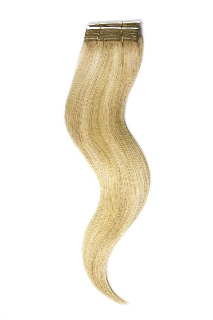 Lightest Brown Light Ash Blonde Mix Hair Extensions