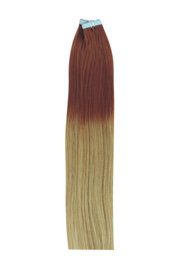 14 Inch Tape in Remy Human Hair Extensions Ombre #T33/27